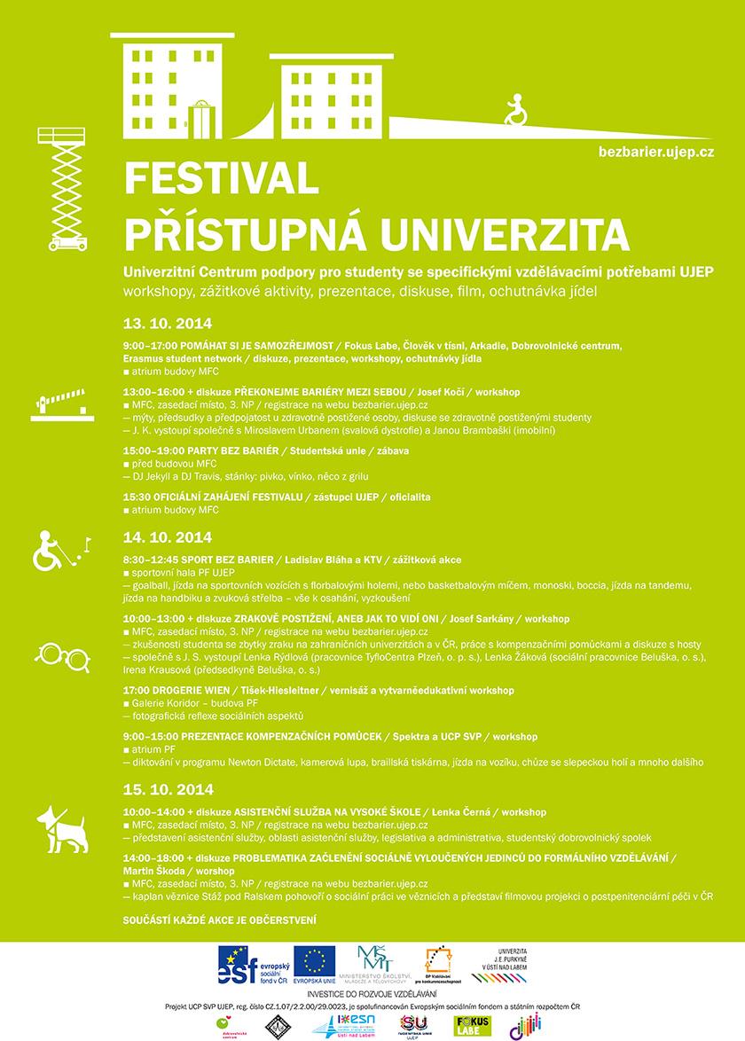 Festival přístupná univerzita